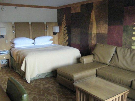 High Peaks Resort: King room