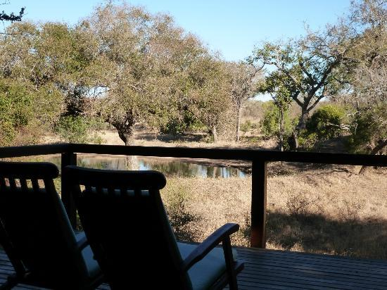 Serondella Game Lodge: deck of the main part of the lodge