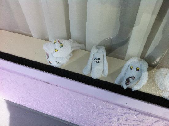 Disney's Pop Century Resort : more towel animals