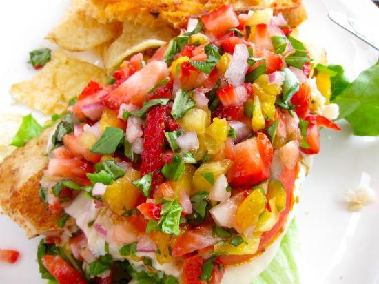 Chef's Hat Cafe : The Salsa .. check out the ingredients