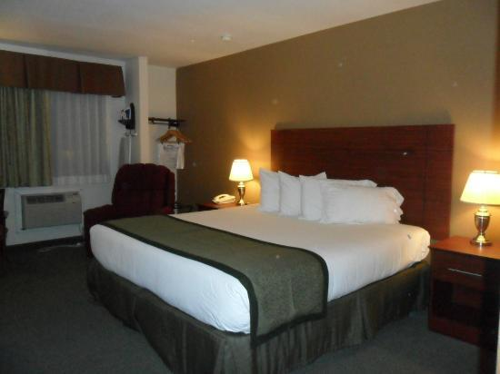 Baymont Inn & Suites Dubuque : King Size Bed