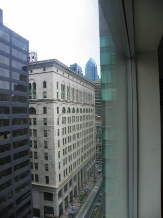 Philadelphia Marriott Downtown: looking west