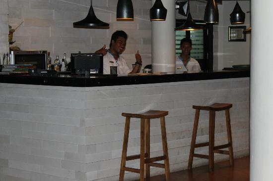 The Camakila Legian Bali : Fantastic Bar Staff