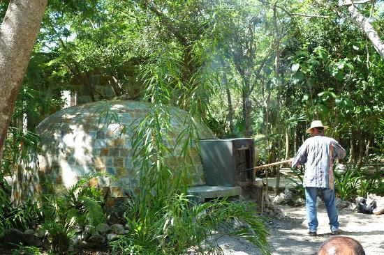 Blue Diamond Luxury Boutique Hotel: Temazcal