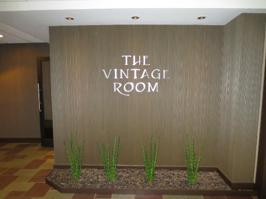 Vintage Dining Room: From the outside
