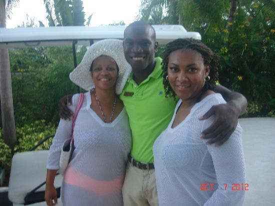 Secrets St. James Montego Bay: I cant remember his name but he was with the marketers