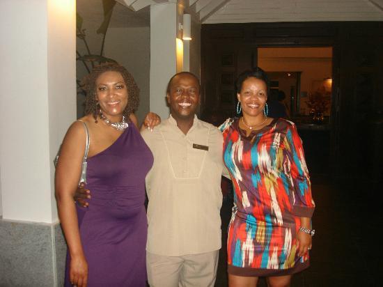 Secrets St. James Montego Bay: Owen-very friendly