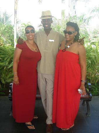 Secrets St. James Montego Bay: Chris Brown the bellman