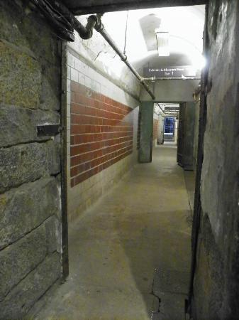 Eastern State Penitentiary: entrance hallway