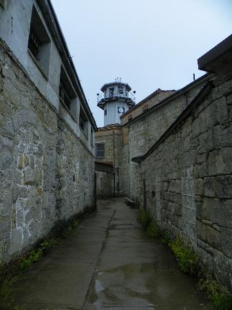 Eastern State Penitentiary: the guards could watch over the grounds from their tower