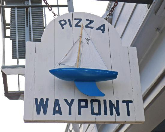 Waypoint Pizza: Nautical themed