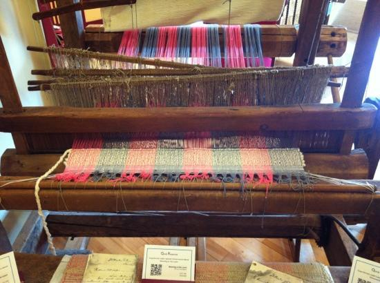 North Highlands Community Museum: weaving loom