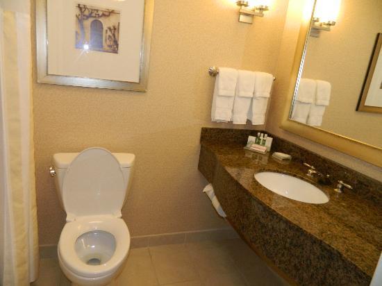 Hilton Garden Inn Atlanta Airport North: Super clean bathroom