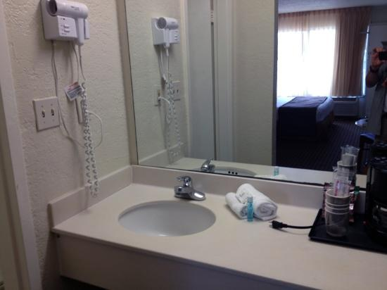 International Palms Resort & Conference Center Cocoa Beach: The sink area.