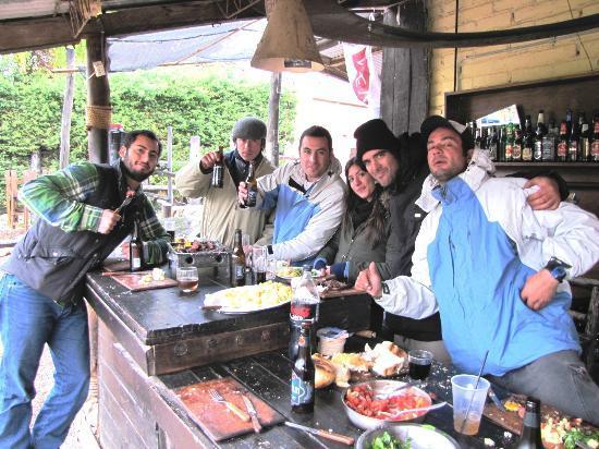 El Puesto Hostel: Mexico, Chile, Argentina, Eunidos, etc. todos juntos.