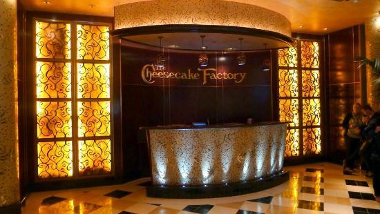 The Cheesecake Factory (3) - Picture of The Cheesecake Factory, San ...