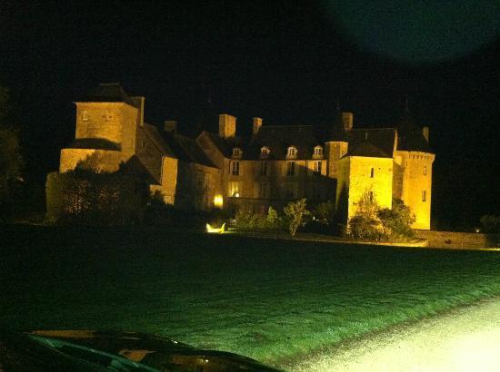 Château de Colombières : The chateau from the drive