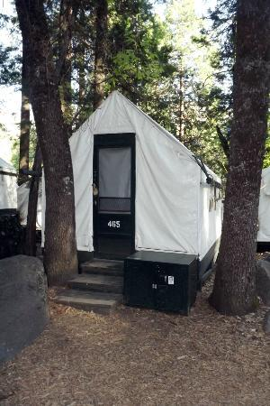 Half Dome Village: Our tent cabin