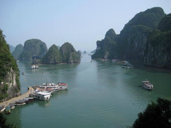 Asia Tour Advisor - Day Tours: View taken from our adventure to 'Surprise Cave'. Some call it 'Amazing Cave'