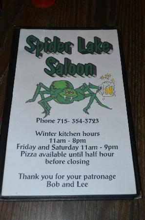 Spider Lake Saloon: Only G-rated photo from this place.... just kidding!
