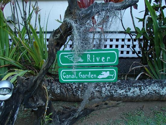 Fern Grotto Inn: Which way do you want to go?