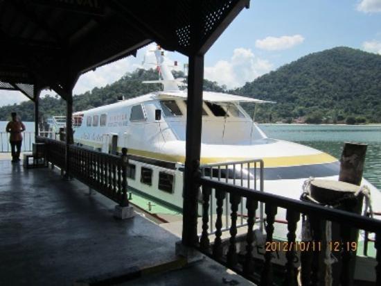 Pangkor Island Beach Resort: Ferry