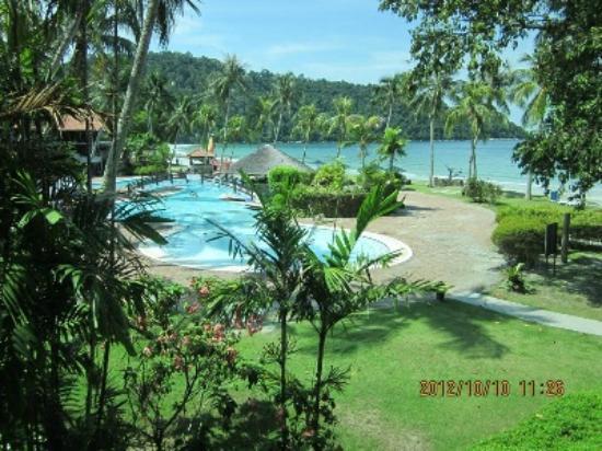 Pangkor Island Beach Resort: View from Ocean Wing Room