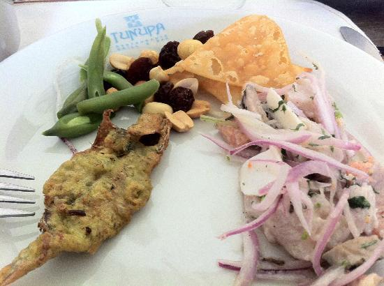 Tunupa Valle Sagrado: Eclectic assortment of dishes