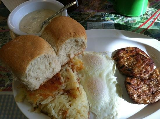 Mike and Ronda's The Place: best sage sausage gravy