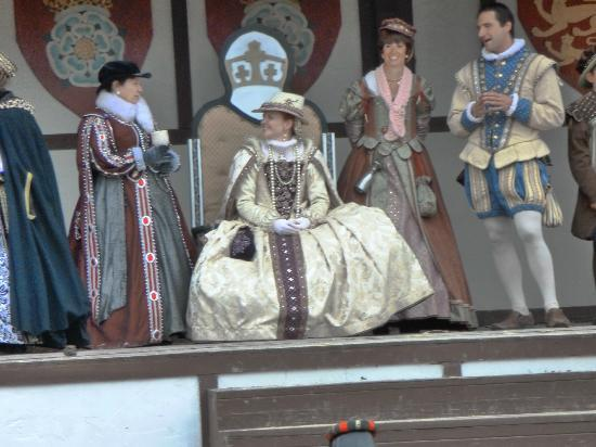 Mount Hope Estate & Winery, home of the Pennsylvania Renaissance Faire: The Queen and her court