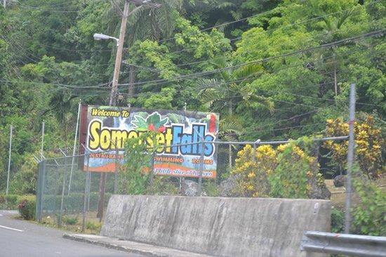 Somerset Falls : Entrance