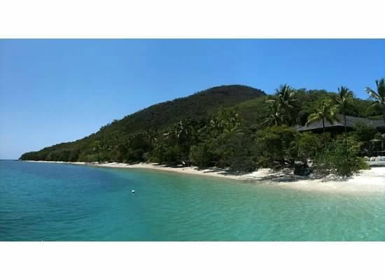 Fitzroy Island Resort: Lodge with peak