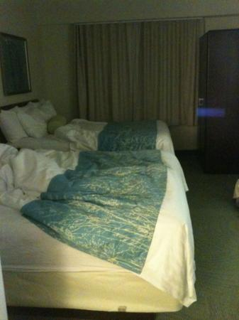 SpringHill Suites Washington: 2queen beds