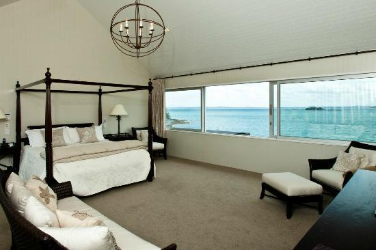 Hei Matau Lodge: Master Suite in Main House