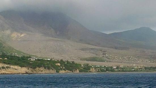 Miles Away Villa Resort & Spa : Plymouth side of Volcano