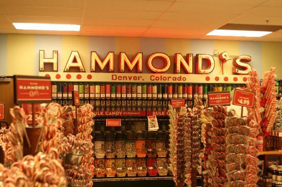 Hammond's Candy Factory: candy store