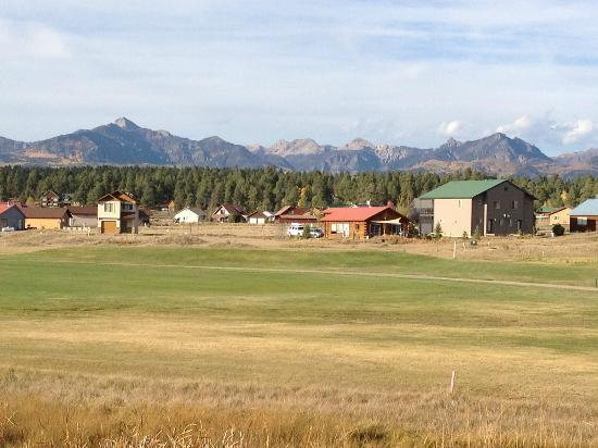 Wyndham Pagosa: View from the back patio