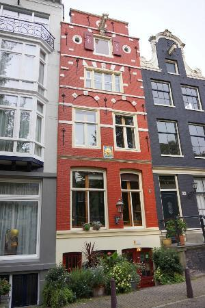 Sunhead of 1617: You can't miss this lovely B&B with its brightly painted facade