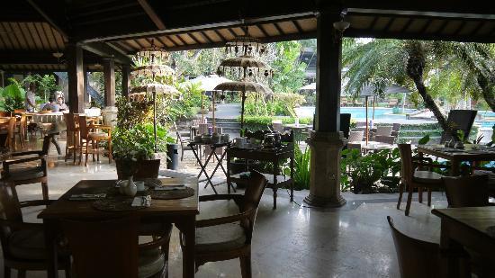 Hotel Vila Lumbung: Breakfast/restaurant