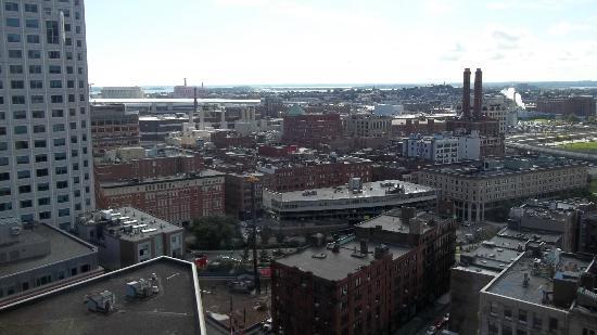 Hyatt Regency Boston: View to right of room 2036 