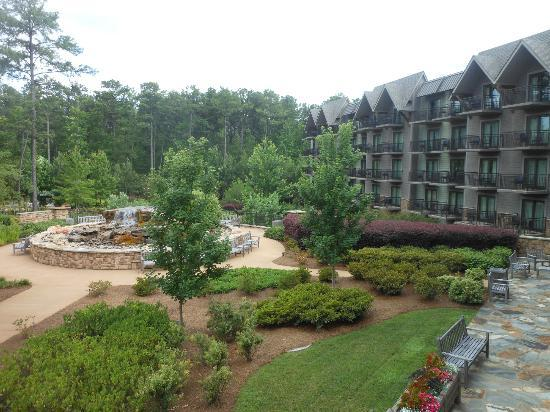 The Lodge and Spa at Callaway Gardens: View from room balcony