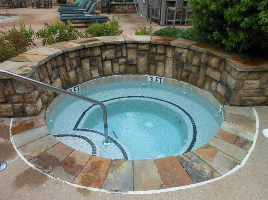 The Lodge and Spa at Callaway Gardens: Whirlpool inside pool area