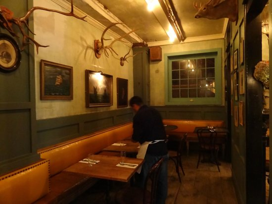 Freemans Restaurant : One of the dining rooms