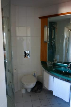 Ibis Praha Old Town: Clean shower/WC