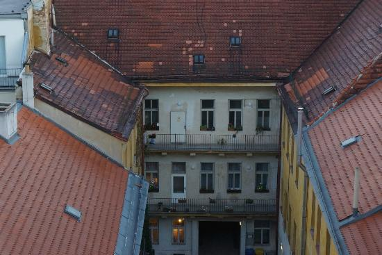Ibis Praha Old Town: View from our room