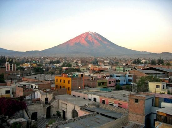 Arequipa, Peru: Misti from Mamatila terrace