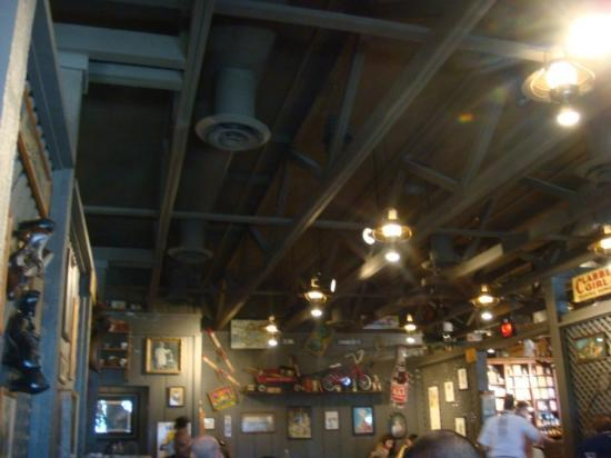 Characteristic Ceiling Picture Of Cracker Barrel