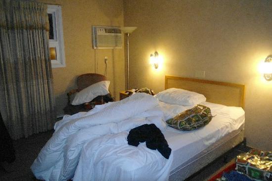 Howard Johnson Plaza Hotel Fredericton : my small room