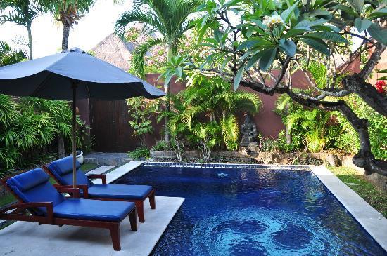 The Dusun: Private pool area.