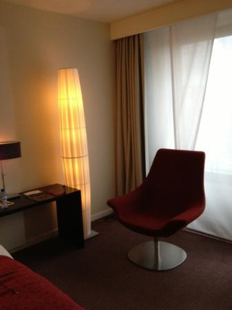 Sofitel Brussels Europe: chambre Deluxe 401